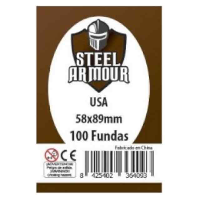 Fundas Steel Armour USA 58 x 89 (100 uds) TABLERUM