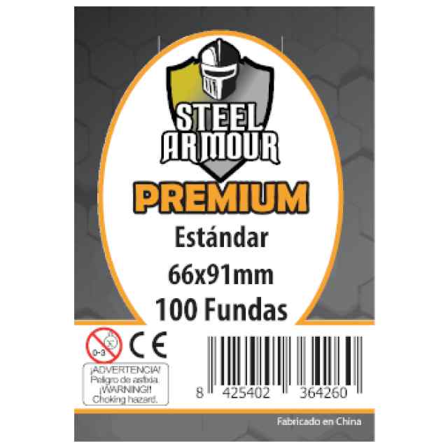Fundas Steel Armour Standard PREMIUM 66x91 (100 uds) TABLERUM
