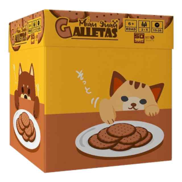 Miau Guau Galletas TABLERUM