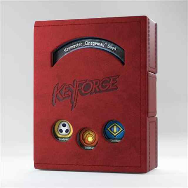 Keyforge Red Deck Book ML TABLERUM