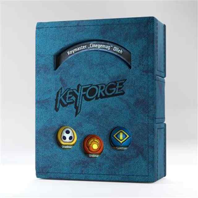 Keyforge Blue Deck Book ML TABLERUM