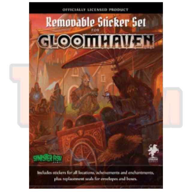 Gloomhaven: Removable Sticker Set TABLERUM