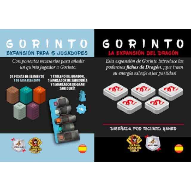 Gorinto: Pack Expansión para 5º Jugador + Dragón TABLERUM
