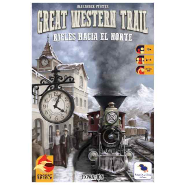 Great Western Trail: Rieles Hacia el Norte TABLERUM