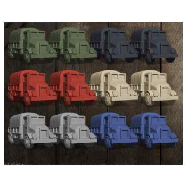 Guerra Fronteriza: 12 Camiones TABLERUM
