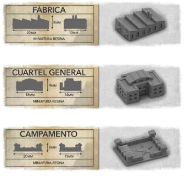 Guerra Fronteriza: 24 Edificios TABLERUM