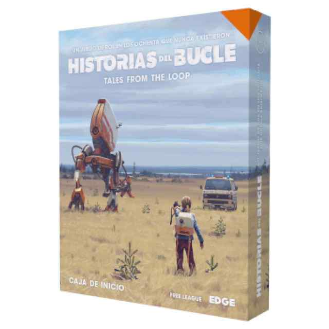 Tales from the Loop - Historias del Bucle Caja de Inicio TABLERUM