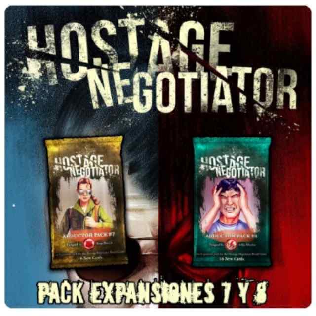 Hostage Negociador: Expansiones 7 y 8 TABLERUM