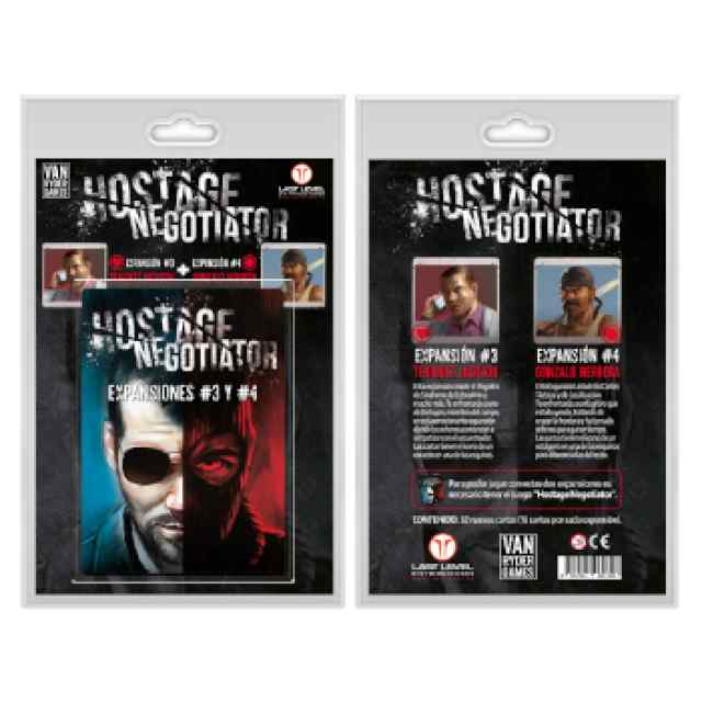 Hostage Negociador: Expansiones 3 y 4 TABLERUM