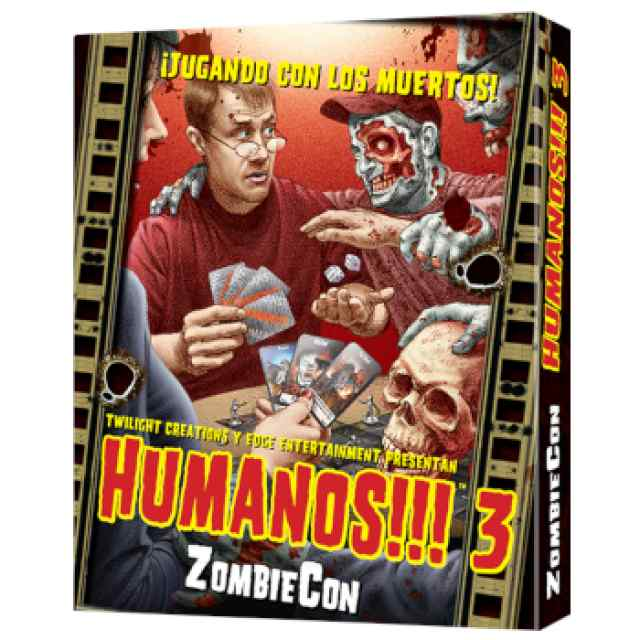 Humanos!!! 3: ZombieCon TABLERUM