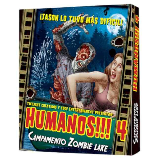Humanos!!! 4: Campamento Zombie Lake TABLERUM