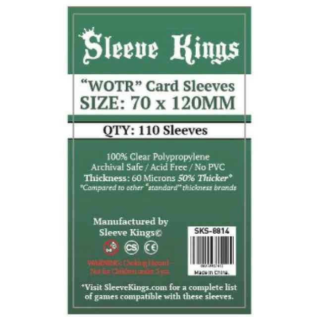 """Funda Sleeve Kings """"WOTR"""" 70x120 (110 uds) TABLERUM"""