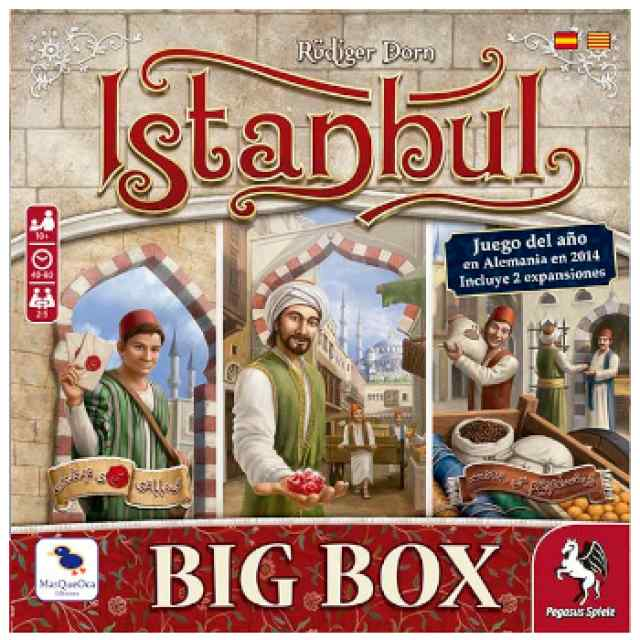 Istanbul Big Box TABLERUM
