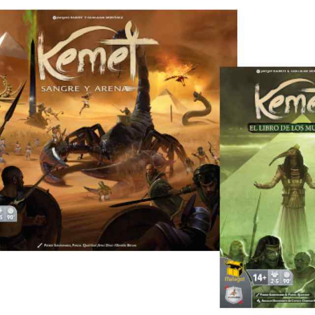 Kemet: Sangre y Arena + Kemet: El Libro de los Muertos TABLERUM