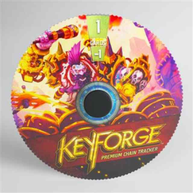 Keyforge: Premium Logos Brobnar Tracker ML TABLERUM