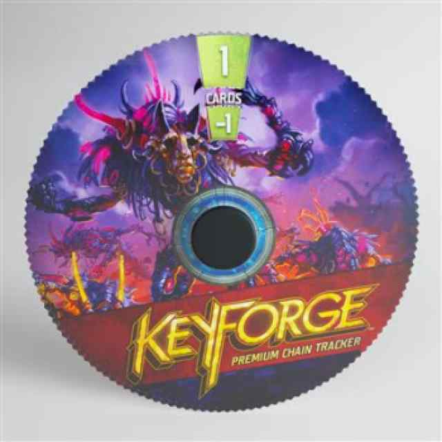 Keyforge: Premium Dis Chain Tracker ML TABLERUM