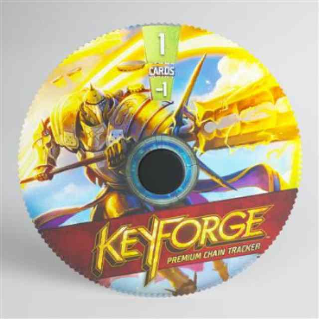 Keyforge: Premium Sanctum Chain Tracker ML TABLERUM