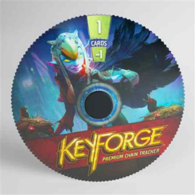 Keyforge: Premium Shadows Chain Tracker ML TABLERUM