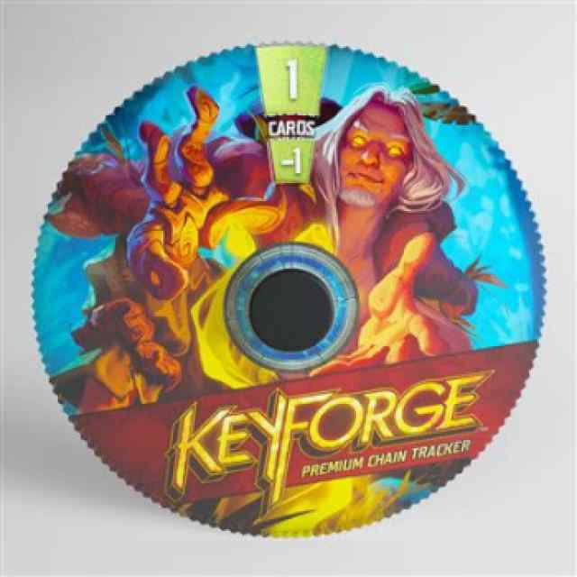 Keyforge: Premium Untamed Chain Tracker ML TABLERUM
