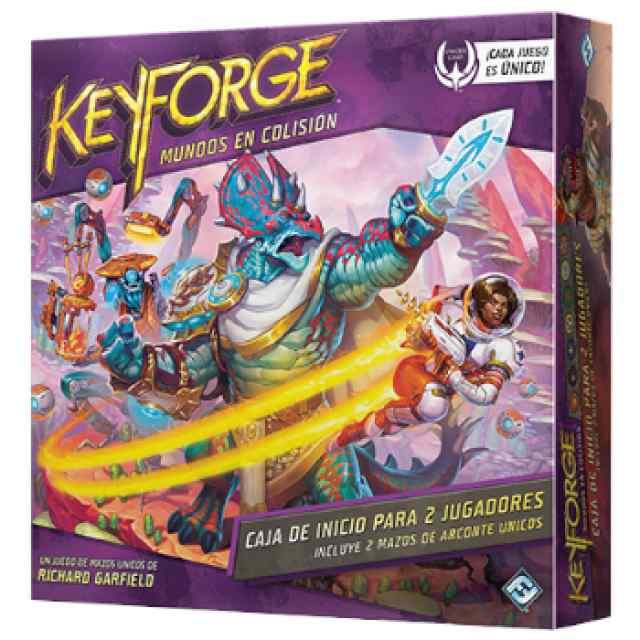Keyforge: Caja de Inicio: Mundos en Colisión TABLERUM