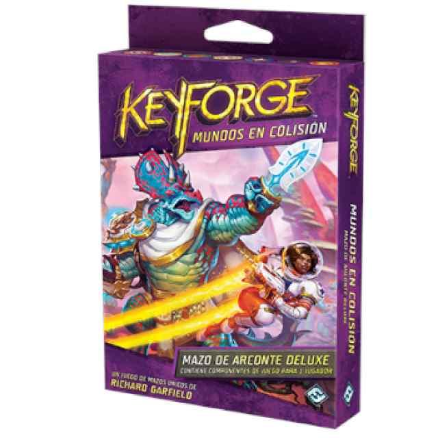 Keyforge: Mundos en Colisión:  Mazo de Arconte DeLuxe TABLERUM