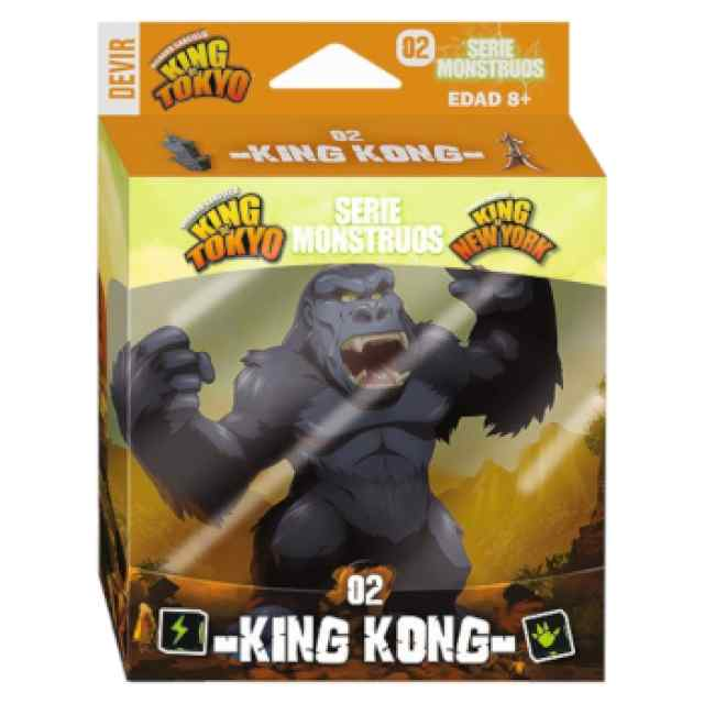 King of Tokyo/New York: Serie Monstruos: King Kong TABLERUM