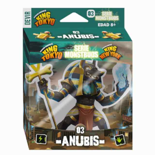 King of Tokio/New York: Anubis TABLERUM
