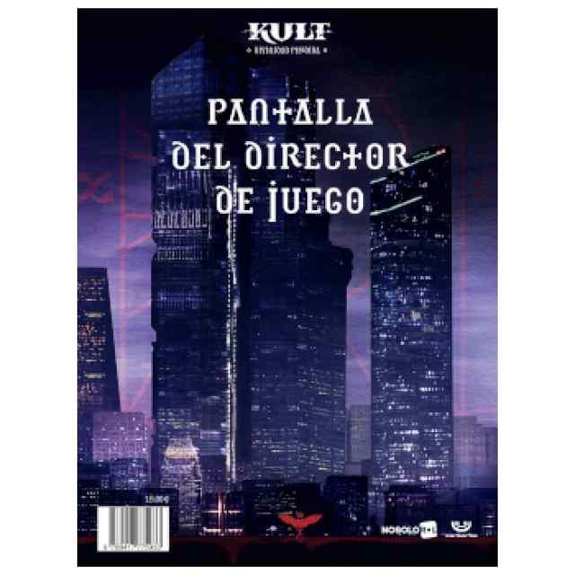 KULT: Pantalla del Director de Juego TABLERUM
