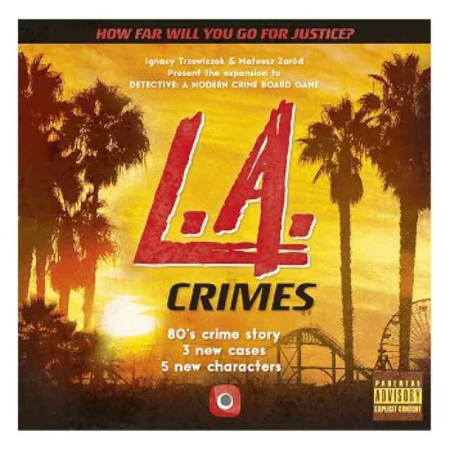 Detective: L.A. Crimes TABLERUM