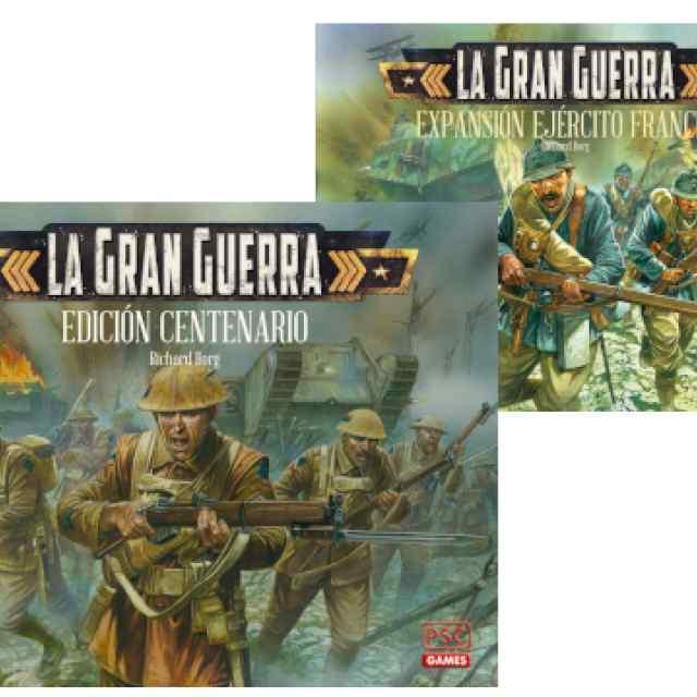 La Gran Guerra Edición Centenario + Expansión Ejército Francés TABLERUM