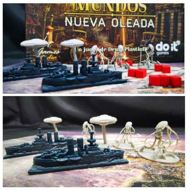 La Guerra de los Mundos: Miniaturas TABLERUM