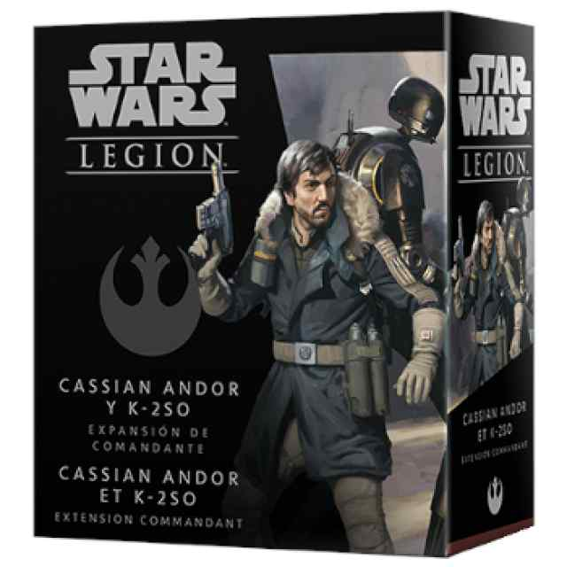 Star Wars Legión: Cassian Andor y K-2SO TABLERUM