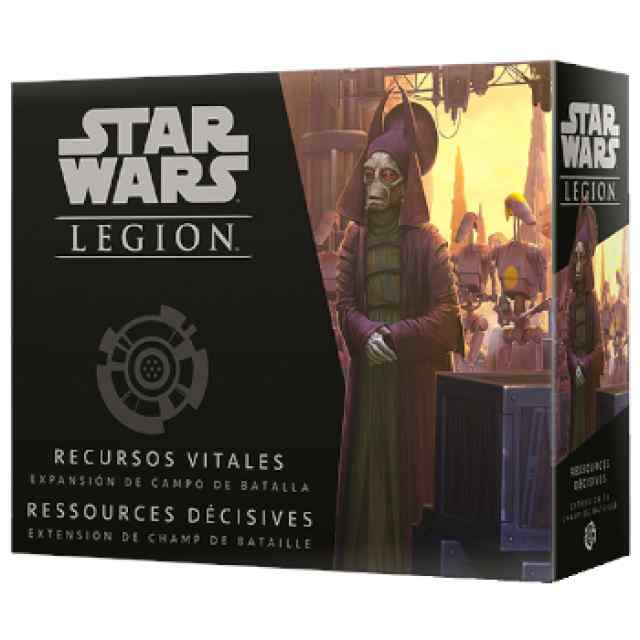 Star Wars Legión: Recursos Vitales TABLERUM