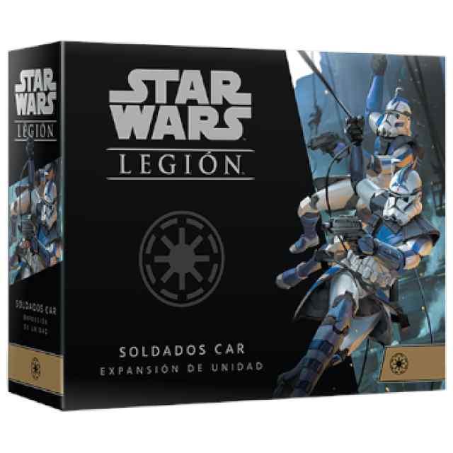 Star Wars Legión: Soldados CAR Expansión de unidad TABLERUM