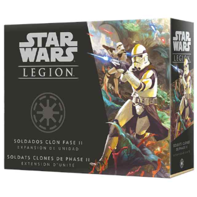 Star Wars Legión: Soldados Clon Fase II TABLERUM