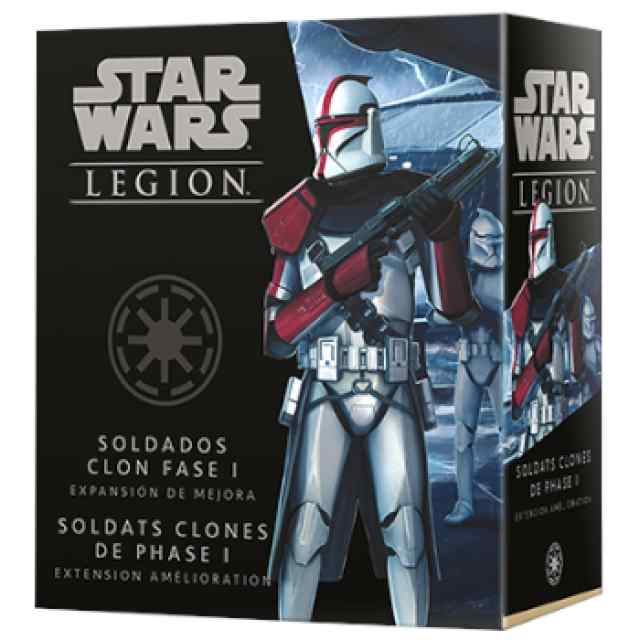 Star Wars Legión: Soldados Clon Fase I Exp. de mejora TABLERUM