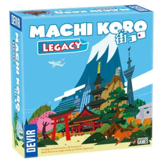 Machi Koro Legacy TABLERUM