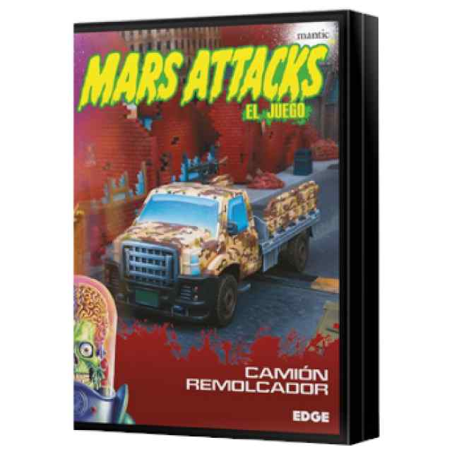 Mars Attacks: Camión remolcador TABLERUM