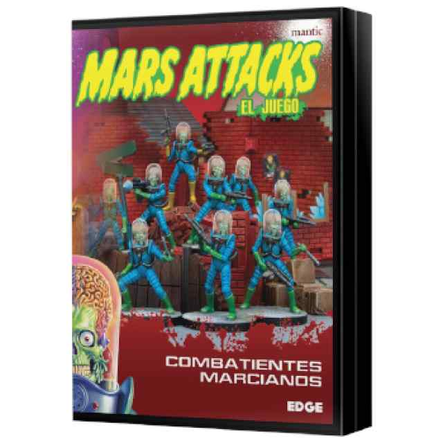 Mars Attacks: Combatientes marcianos TABLERUM