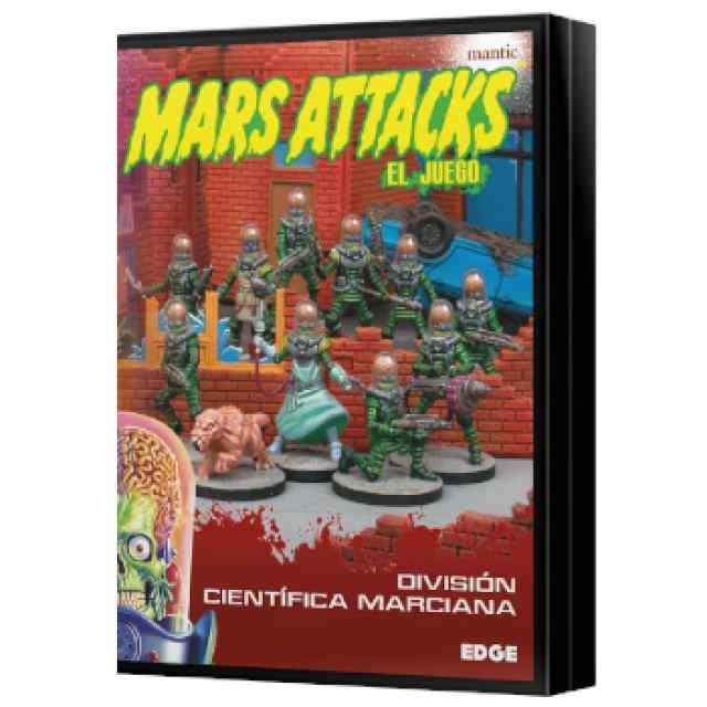 Mars Attacks: División Científica marciana TABLERUM