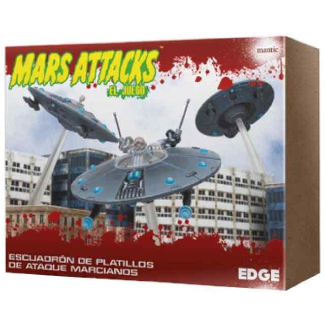 Mars Attacks: Escuadrón de platillos de ataque marcianos TABLERUM