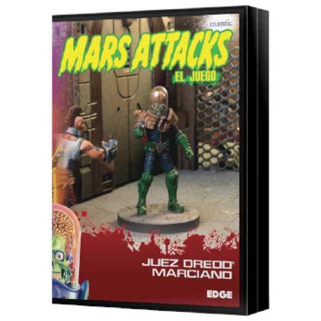 Mars Attacks: Juez Dredd marciano TABLERUM