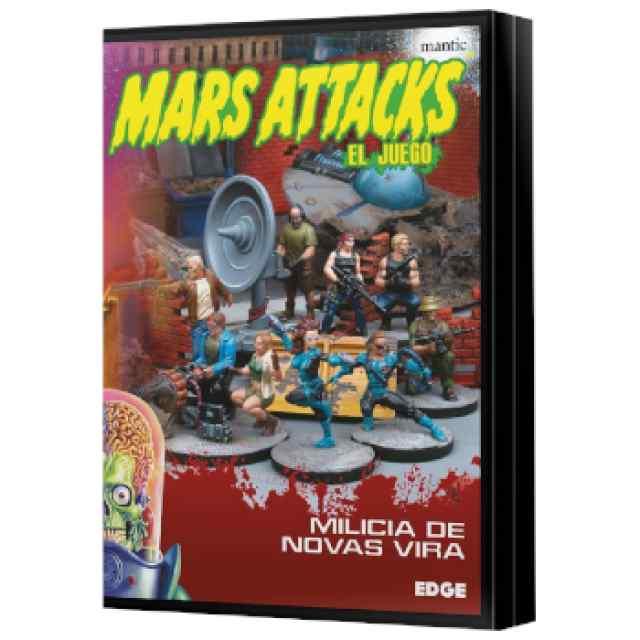 Mars Attacks: Milicia de Novas Vira TABLERUM