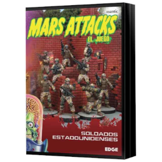 Mars Attacks: Soldados estadounidenses TABLERUM