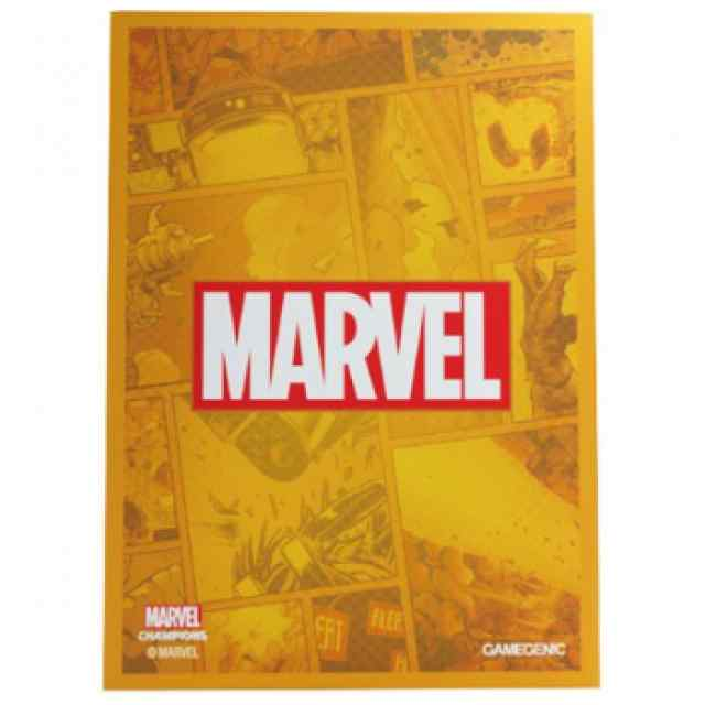 Marvel Champions: Fundas Marvel (Naranja) TABLLERUM