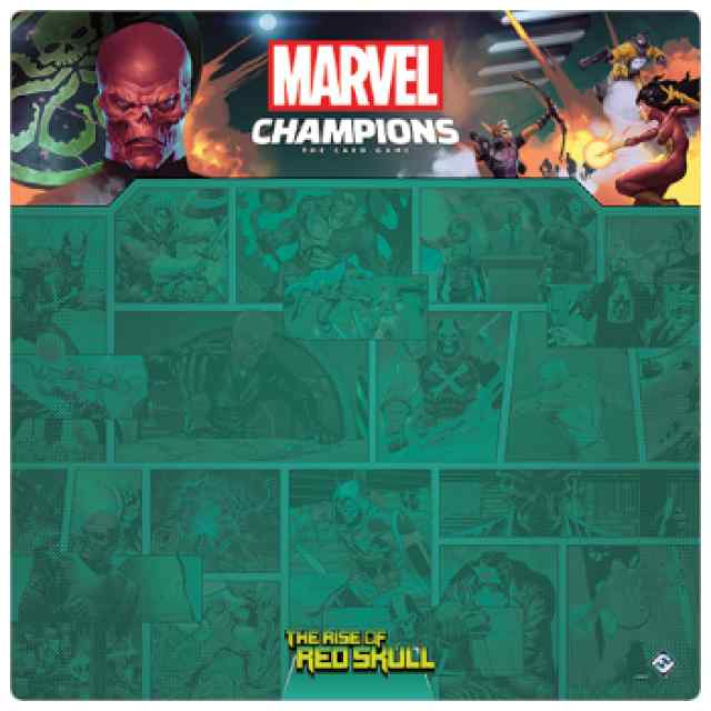Marvel Champions: Tapete Cráneo Rojo TABLERUM