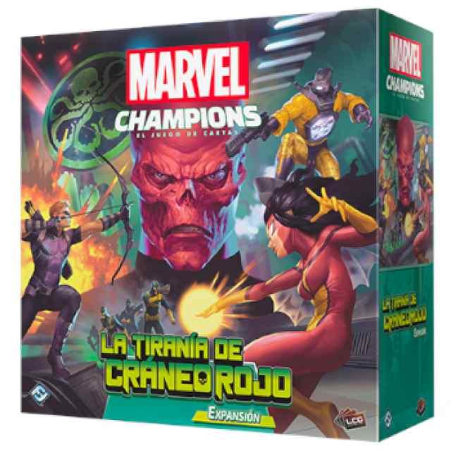 Marvel Champions: La Tiranía del Cráneo Rojo TABLERUM
