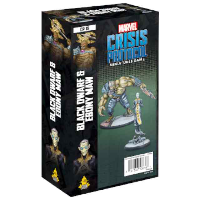 Marvel Crisis Protocol: Black Dwarf & Ebony Maw EN TABLERUM