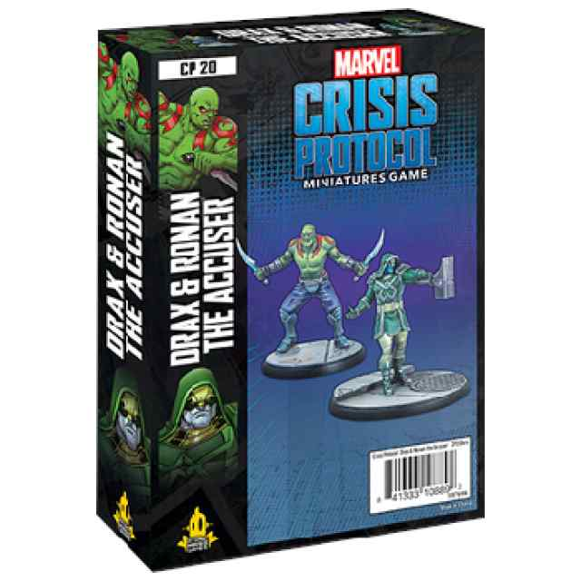 Marvel Crisis Protocol: Drax & Ronan The Accuser TABLERUM