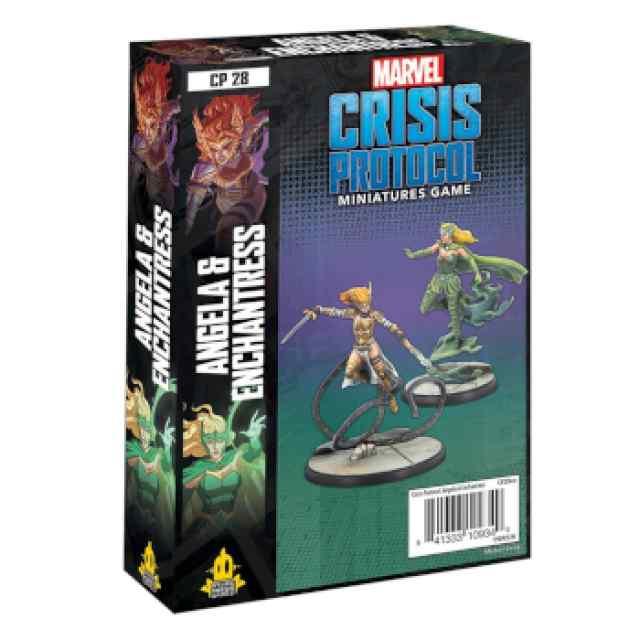 Marvel Crisis Protocol: Angela & Enchantress EN TABLERUM